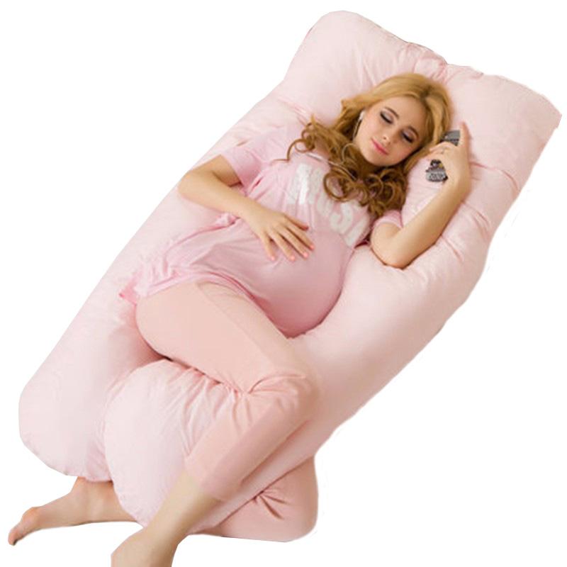 zwangerschapskussen groot roze