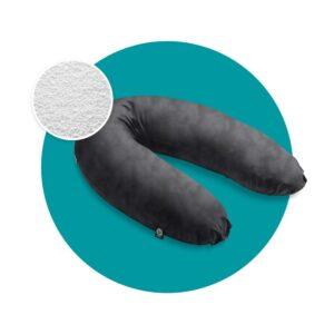 mjuka voedingskussen microparels zwart
